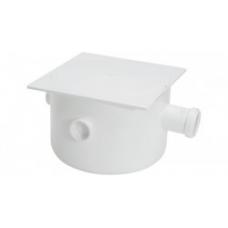 CAIXA PVC Esgoto 73 250x230x75mm Quadrada