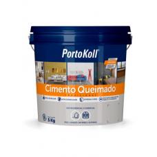 ARGAMASSA Cimento Queimado Carbono 5Kg De R$ 74,90 por