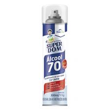ÁLCOOL Aerossol 70% Super Dom 300ml 170g