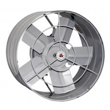 EXAUSTOR 30cm 127v Cinza Axial Industrial