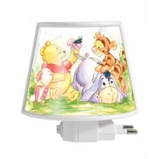 ABAJUR Mini 127v Pooh Baby De R$ 15,90 por